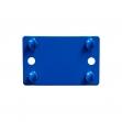 Regalverbinder für das Maxplusregal blau