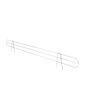 Gitterverschluss Vorder- und Rückseite