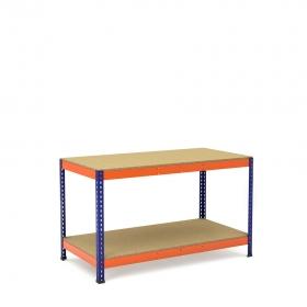 Arbeitstisch mit Ablagefach unten